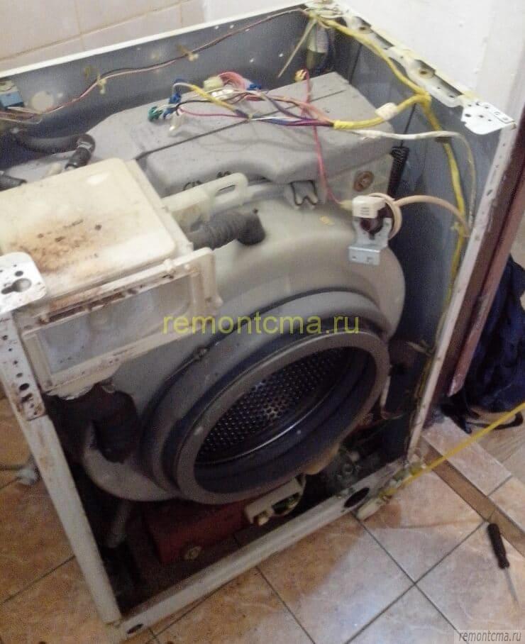 Стиральная машина без передней панели