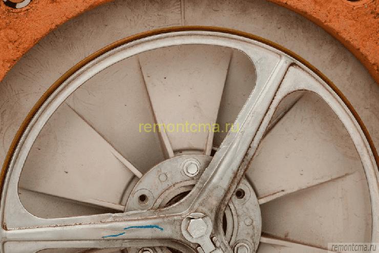 ремень привода стиралки и шкив