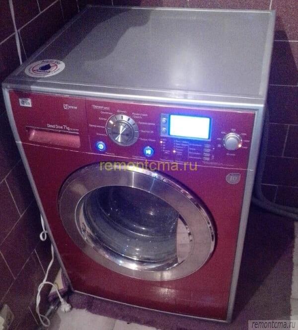 Ремонтируемая стиральная машина LG
