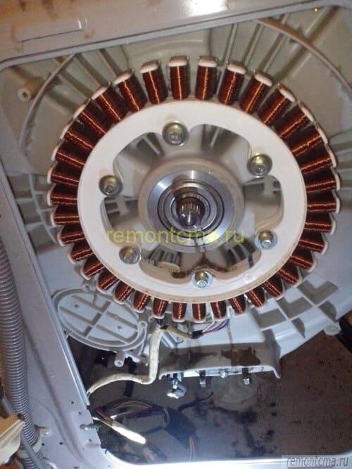 Управление двигателем стиральной машины схема