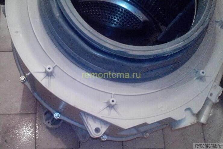 Снятый бак стиральной машины lg