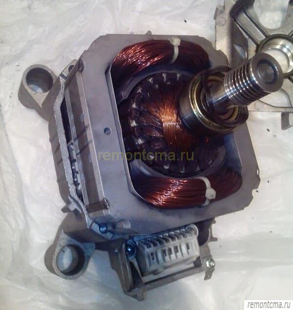 мотор без крышки