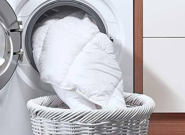 постирать пуховое одеяло