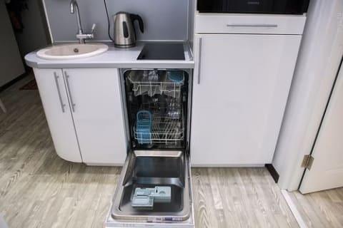 посудомоечная машина под плитой
