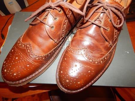 заломы на обуви