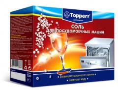 Применение соли в посудомоечных машинах