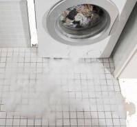 Действия в положении, когда потекла стиральная машина во время стирки