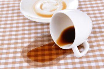 следы от кофе